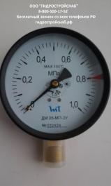 Манометр ДМ05 МП-ЗУ 100 (МП100) 0...1,0 МПа